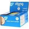 Dang Foods LLC, Кето-батончик, набор-ассорти, 12 батончиков, по 1,4 унции (40 г) каждый