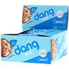 Dang Foods LLC, कीटो बार, आलमंड वैनिला, 12 बार्स, 1.4 औंस (40 ग्राम) प्रत्येक