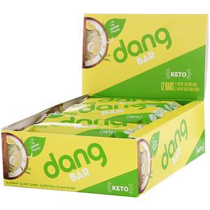 Дэнг Фудс ЛЛС, Keto Bar, Lemon Matcha, 12 Bars, 1.4 oz (40 g) Each отзывы