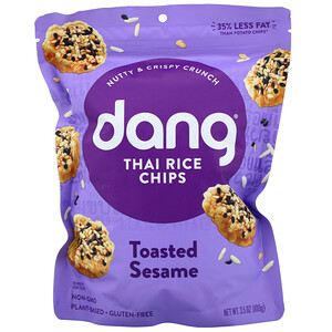 Dang, Thai Rice Chips, Toasted Sesame,  3.5 oz (100 g)