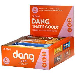 Дэнг Фудс ЛЛС, Keto Bar Variety Pack,  12 Bars, 1.4 oz (40 g) Each отзывы