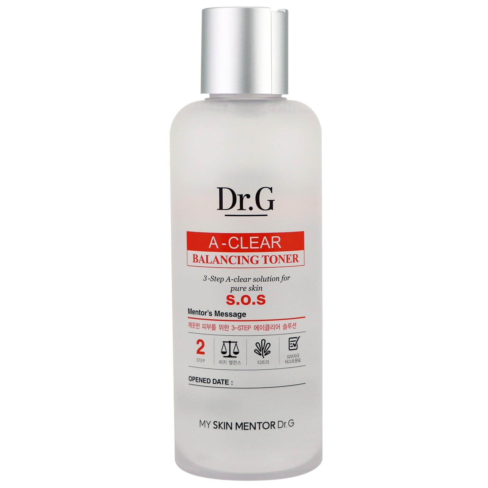 Dr. G, A-Clear, тоник для баланса кожи, 5,74 ж. унц. (170 мл)