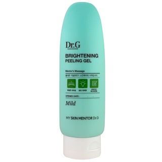 Dr. G, Brightening Peeling Gel, Mild, 4.23 oz (120 g)