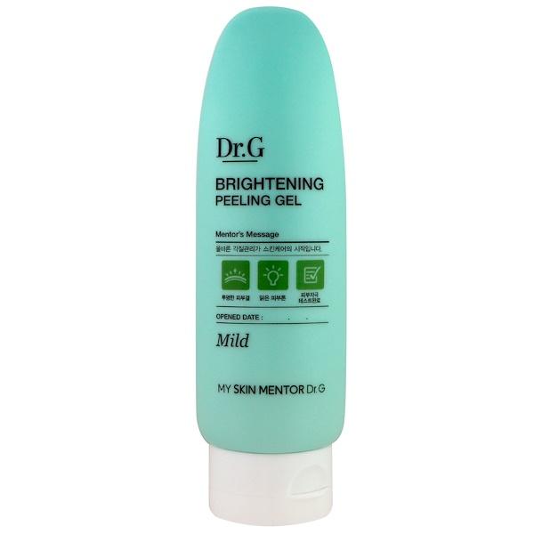 Dr. G, Brightening Peeling Gel, Mild, 4.23 oz (120 g) (Discontinued Item)