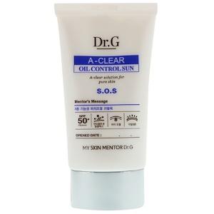 Dr. G, A-Clear, Oil Control Sun Cream SPF50+ PA++, 1.69 fl oz (50 ml) отзывы