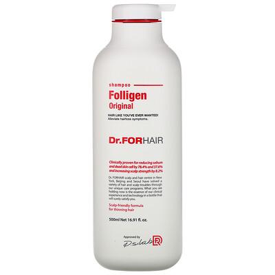Купить Dr.ForHair Folligen Shampoo, 16.91 fl oz (500 ml)