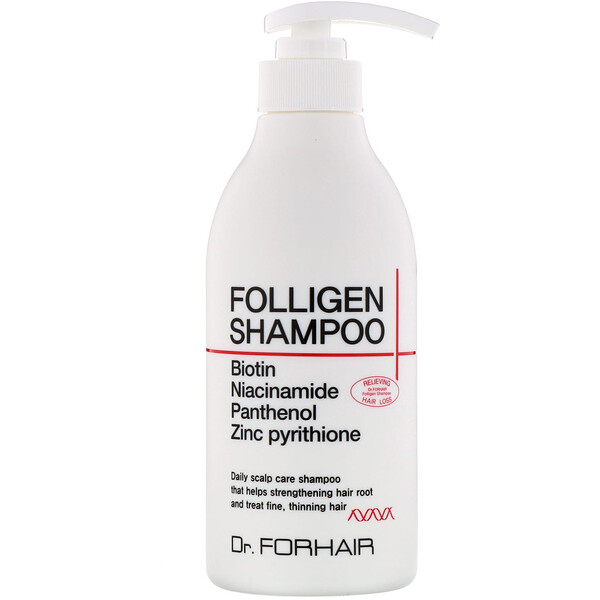Dr.ForHair, Folligen Shampoo, 16.91 fl oz (500 ml)