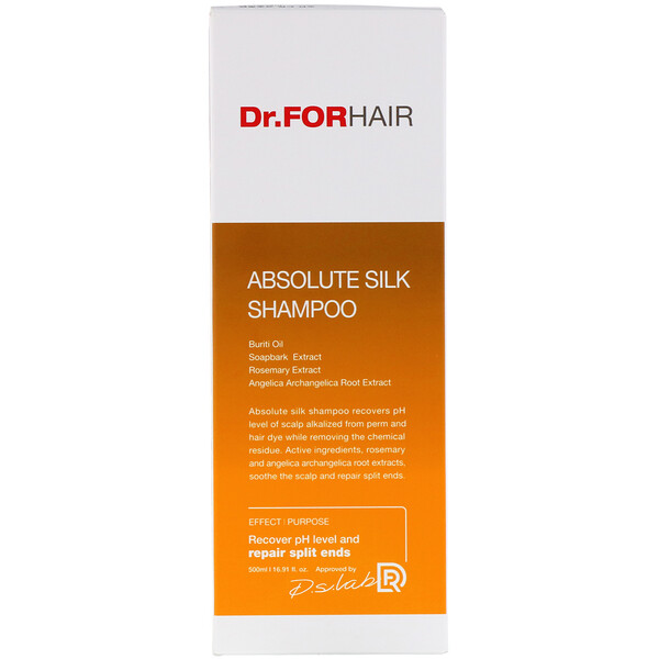 Dr.ForHair, Absolute Silk Shampoo, 16.91 fl oz (500 ml)