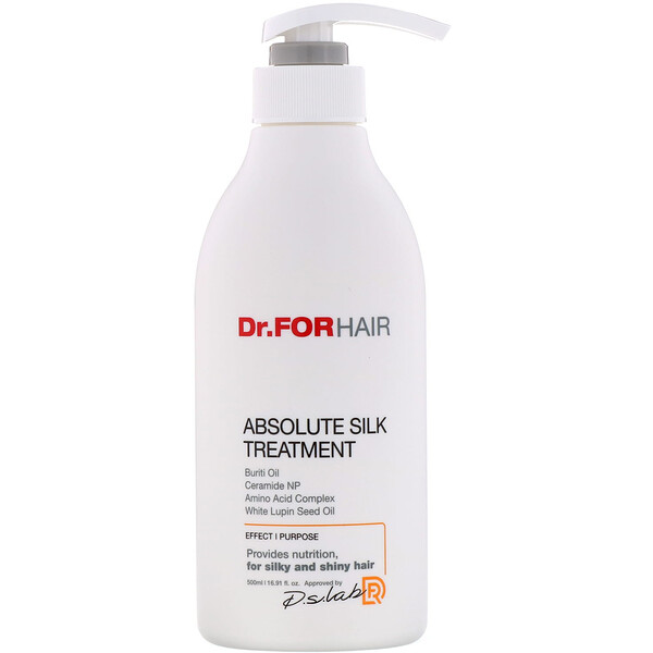 Dr.ForHair, Absolute Silk Treatment, 16.91 fl oz (500 ml)