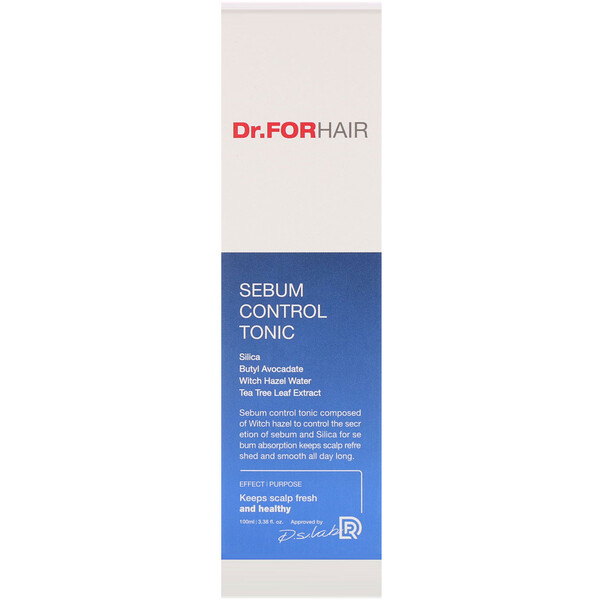 Dr.ForHair, Sebum Control Tonic, 3.38 fl oz (100 ml)
