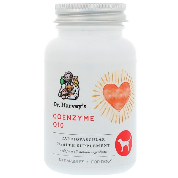 Dr. Harvey's, Coenzyme Q10, For Dogs, 60 Capsules
