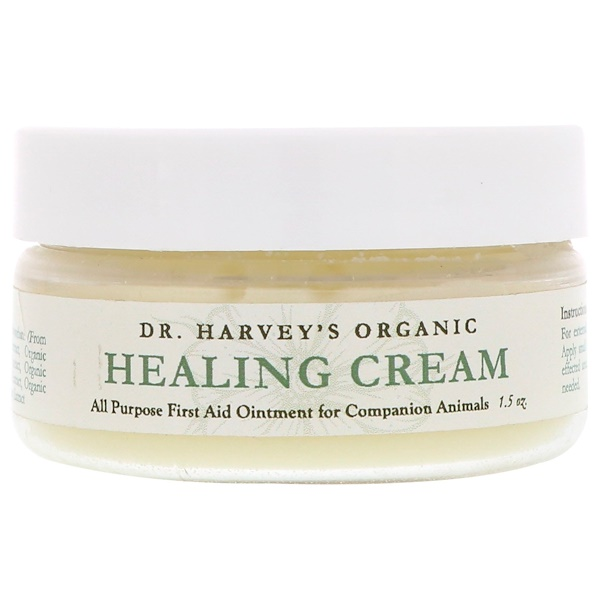 Dr. Harvey's, Organic Healing Cream, For Companion Animals, 1.5 oz