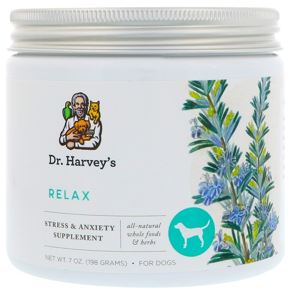 Dr. Harvey's, Relax Supplement, For Dogs, 7 oz (198 g) (Discontinued Item)