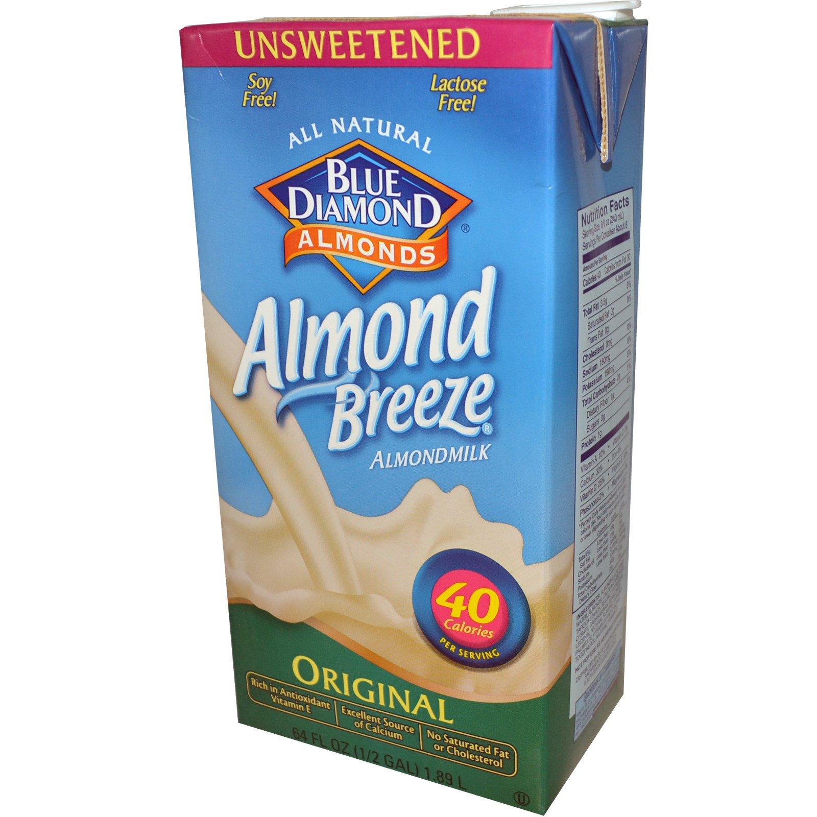 Blue Diamond, Almond Breeze, Almond