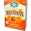 Blue Diamond, Almond Nut-Thins, Nut & Rice Cracker Snacks, Cheddar Cheese, 4.25 oz (120.5 g)