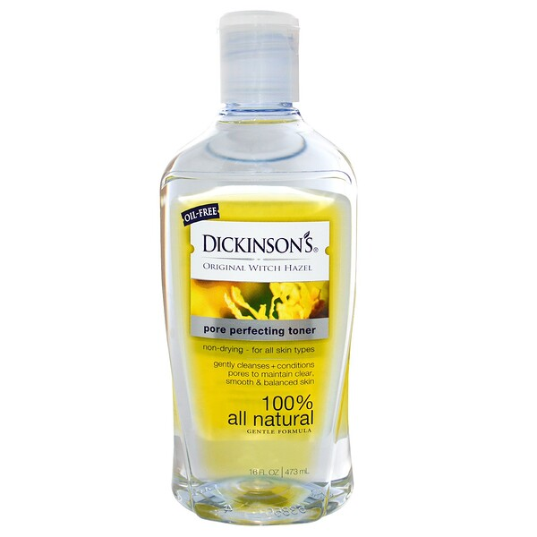 Dickinson Brands, Original Witch Hazel, Toner perfectionnant pour pores, 16 fl oz (473 ml)