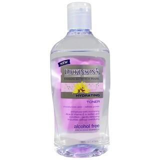 Dickinson Brands, Tónico hidratante de agua de hamamelis mejorada sin alcohol de 473 ml