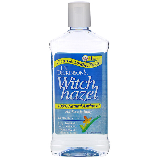 Witch Hazel, For Face & Body, 16 fl oz (473 ml)