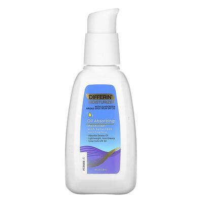 Купить Differin Oil Absorbing Moisturizer with Sunscreen, SPF 30, 4 fl oz (118 ml)