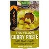 deSIAM, Thai Yellow Curry Paste, Mild, 2.4 oz (70 g)