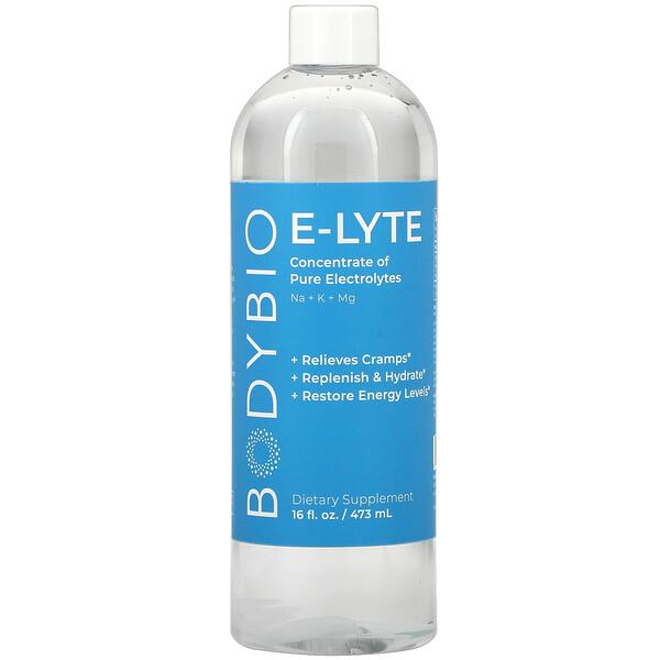 BodyBio, E-Lyte, 16 fl oz (473 ml)