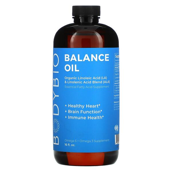 Balance Oil, Organic Linoleic Acid and Linolenic Acid Blend, 16 fl oz (473 ml)