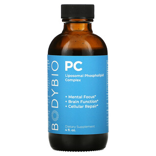 BodyBio, PC, Liposomal Phospholipid Complex, 4 fl oz