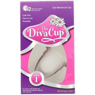 Купить Diva Cup, модель 1, 1 менструальная чашечка