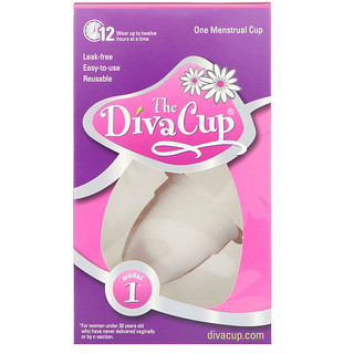 Diva International, The Diva Cup, Modelo 1, 1 copa menstrual