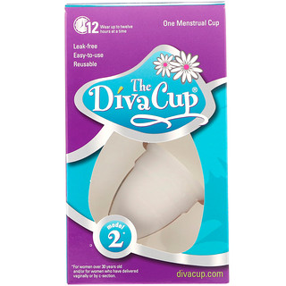 Diva International, The Diva Cup, Model 2, 1 Menstrual Cup