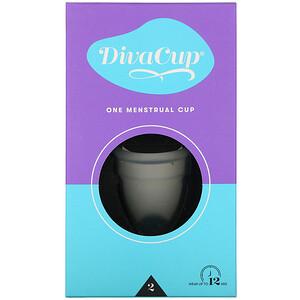 Дива Интернэшнл, DivaCup, Model 2, 1 Menstrual Cup отзывы покупателей