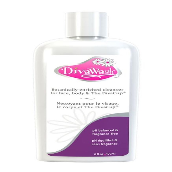 Diva International, Diva Wash, 6 fl oz (177 ml)