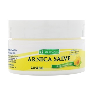 De La Cruz, Arnica Salve, For Cracked Skin, 0.21 oz (6 g)