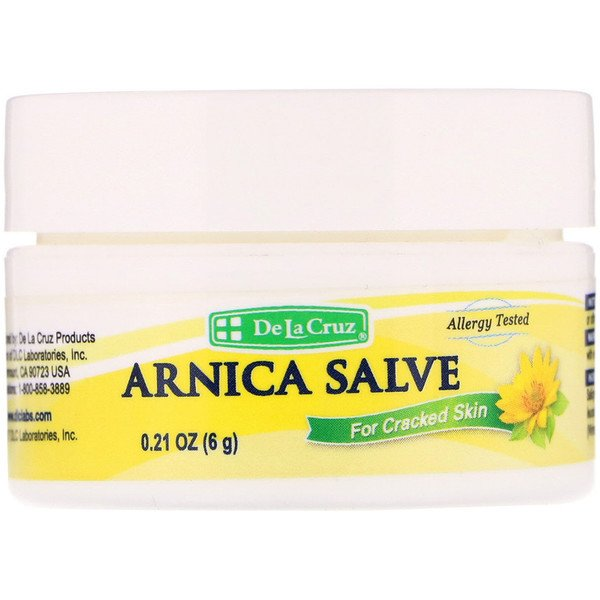 Arnica Salve, For Cracked Skin, 0.21 oz (6 g)