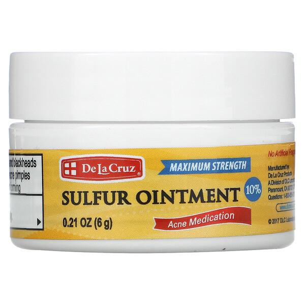 硫軟膏,痘痘藥,極強效,0.21盎司(6克)