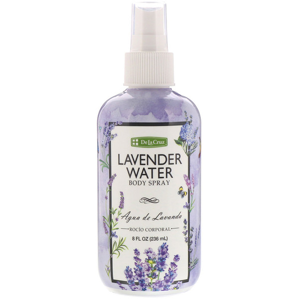 De La Cruz, Lavender Water Body Spray, 8 fl oz (236 ml) (Discontinued Item)