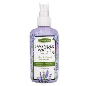 Дэ Ля Круз, Lavender Water Body Mist, 8 fl oz (236 ml) отзывы