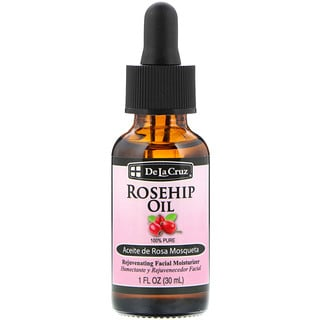 De La Cruz, Rosehip Oil, Rejuvenating Facial Moisturizer, 1 fl oz (30 ml)