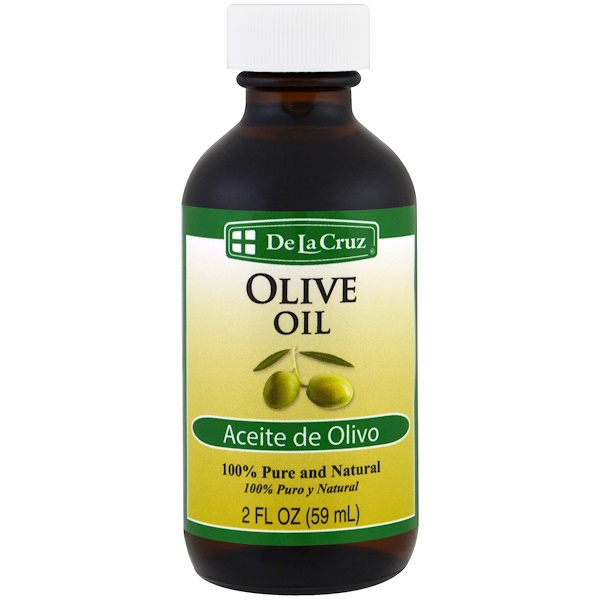 De La Cruz, 100% Pure and Natural Olive Oil, 2 fl oz (59 ml)
