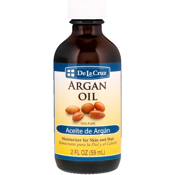 De La Cruz, Huile d'argan, 100% pure, 2 oz fl (59 ml)