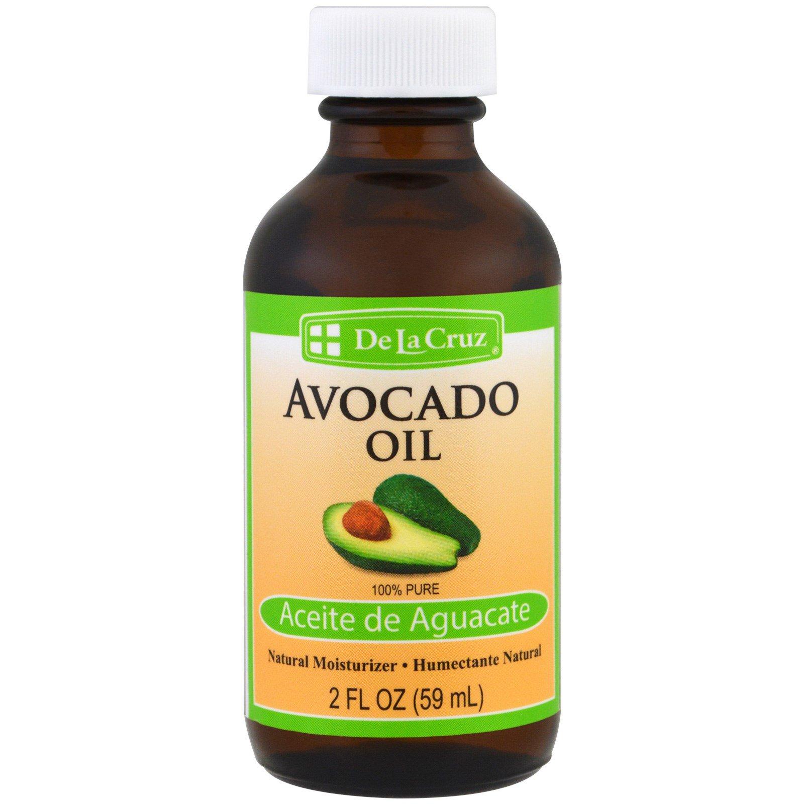 De La Cruz, 100% Pure Avocado Oil, 2 fl oz (59 ml)