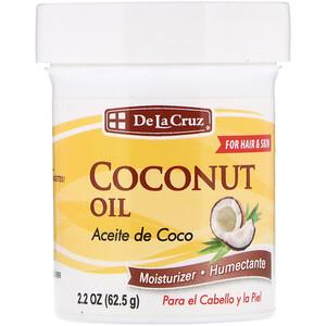 Дэ Ля Круз, Coconut Oil, Moisturizer, 2.2 oz (62.5 g) отзывы покупателей