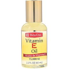 De La Cruz, 維生素E油,15,000國際單位,2.2液盎司(65毫升)