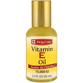 De La Cruz, Vitamin E Oil, 15,000 IU, 2.2 fl oz (65 ml)