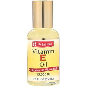 Дэ Ля Круз, Vitamin E Oil, 15,000 IU, 2.2 fl oz (65 ml) отзывы
