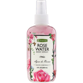 De La Cruz, Rose Water Body Spray, 8 fl oz (236 ml)