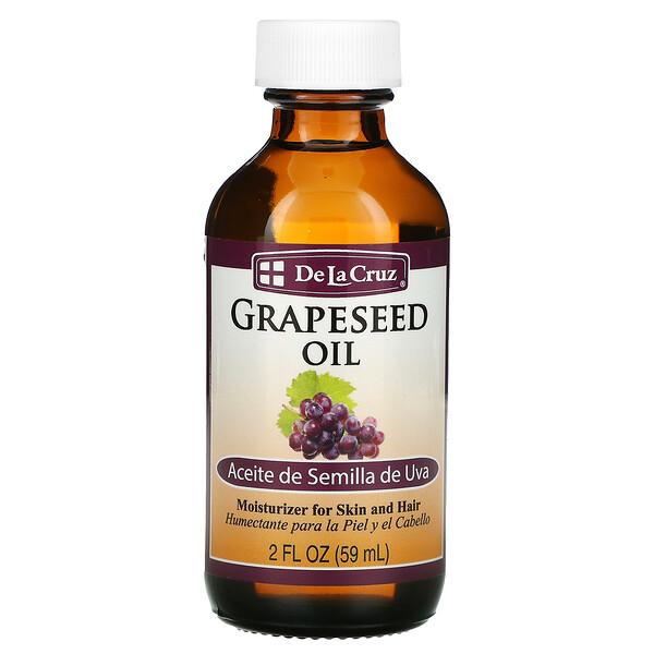 De La Cruz, Grapeseed Oil,  2 fl oz (59 ml)