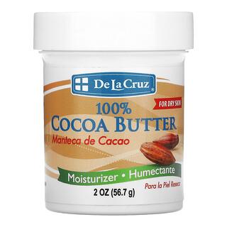 De La Cruz, 100% Manteiga de Cacau, 56,7 g (2 oz)