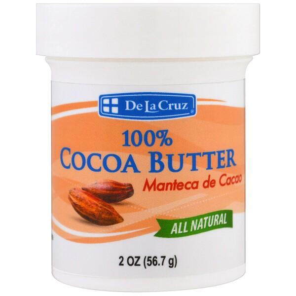 De La Cruz, 100%可可脂,2盎司(56、7克)