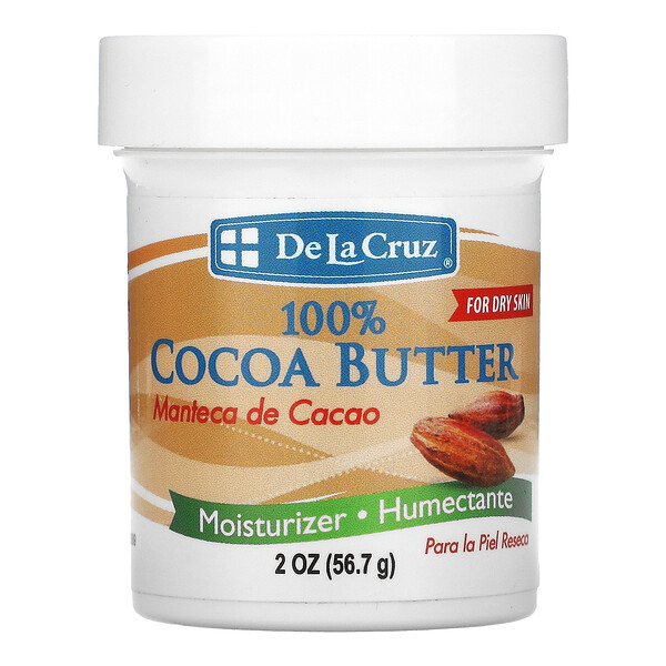 100% Cocoa Butter, 2 oz (56.7 g)